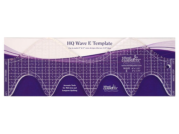 "Image of the HQ Wave E Ruler 3"" and 6"""
