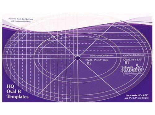 Image of the HQ Oval B Ruler