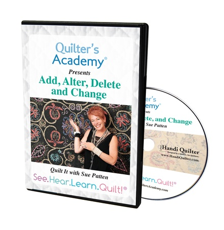 Image of the DVD case for Add, Alter, Delete - Sue Patten DVD