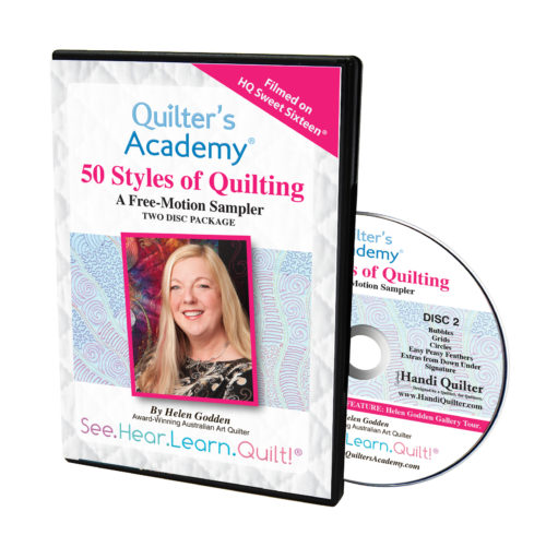 50 Styles of Quilting with Helen Godden (2 DVD Set)