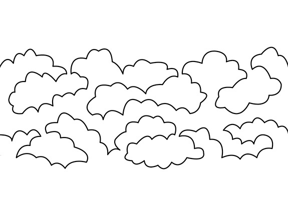 Diagram of the Lofty Clouds Groovy Board